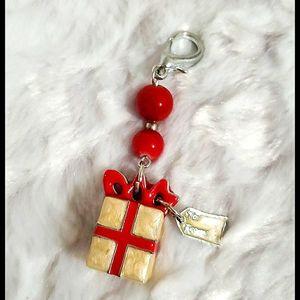 NORDSTROM•Christmas themed key fob🤔dsngle/charm?